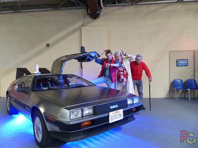 Mangalaxy DeLorean