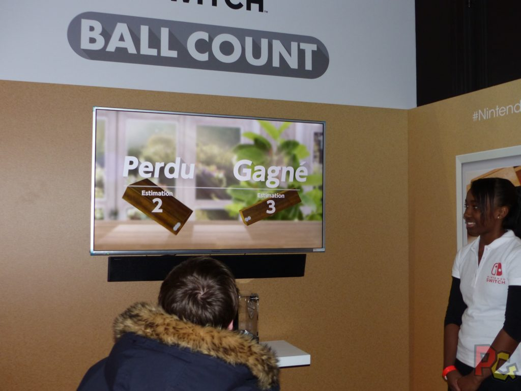 Essai Switch - Ball count