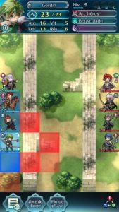 Fire Emblem Heroes combat plaine