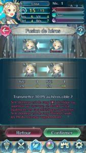 Fire Emblem Heroes fusion