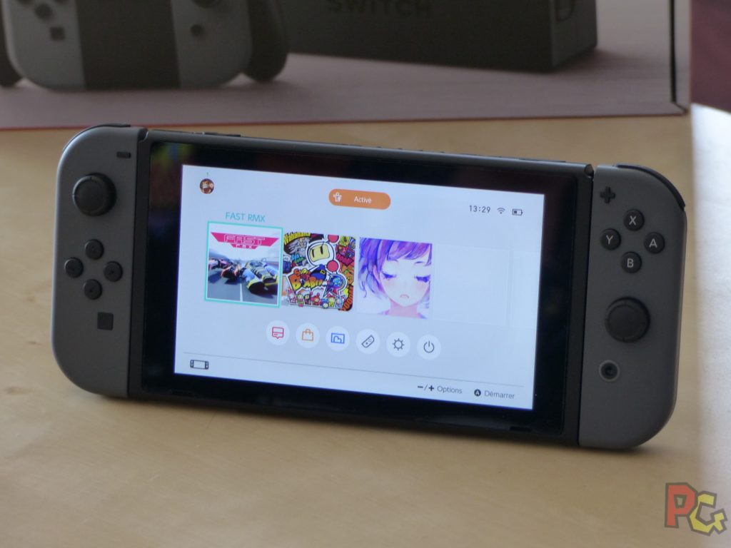 Unboxing Switch - Interface
