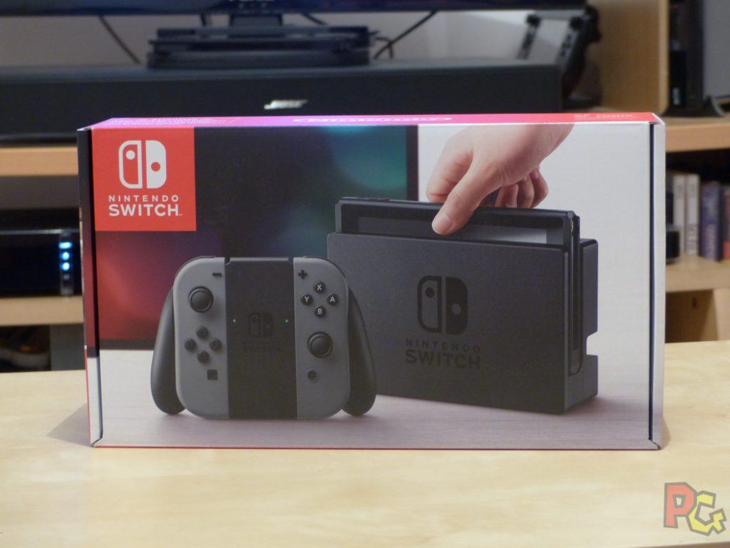 Unboxing Switch - Recto de la boîte