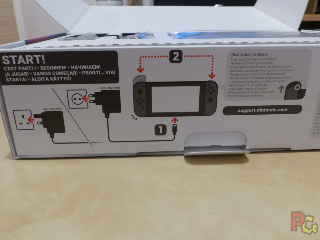 Unboxing Switch - Instructions