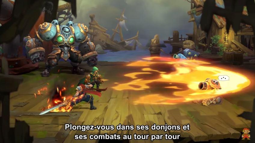 Nintendo Direct - Battle Chaser