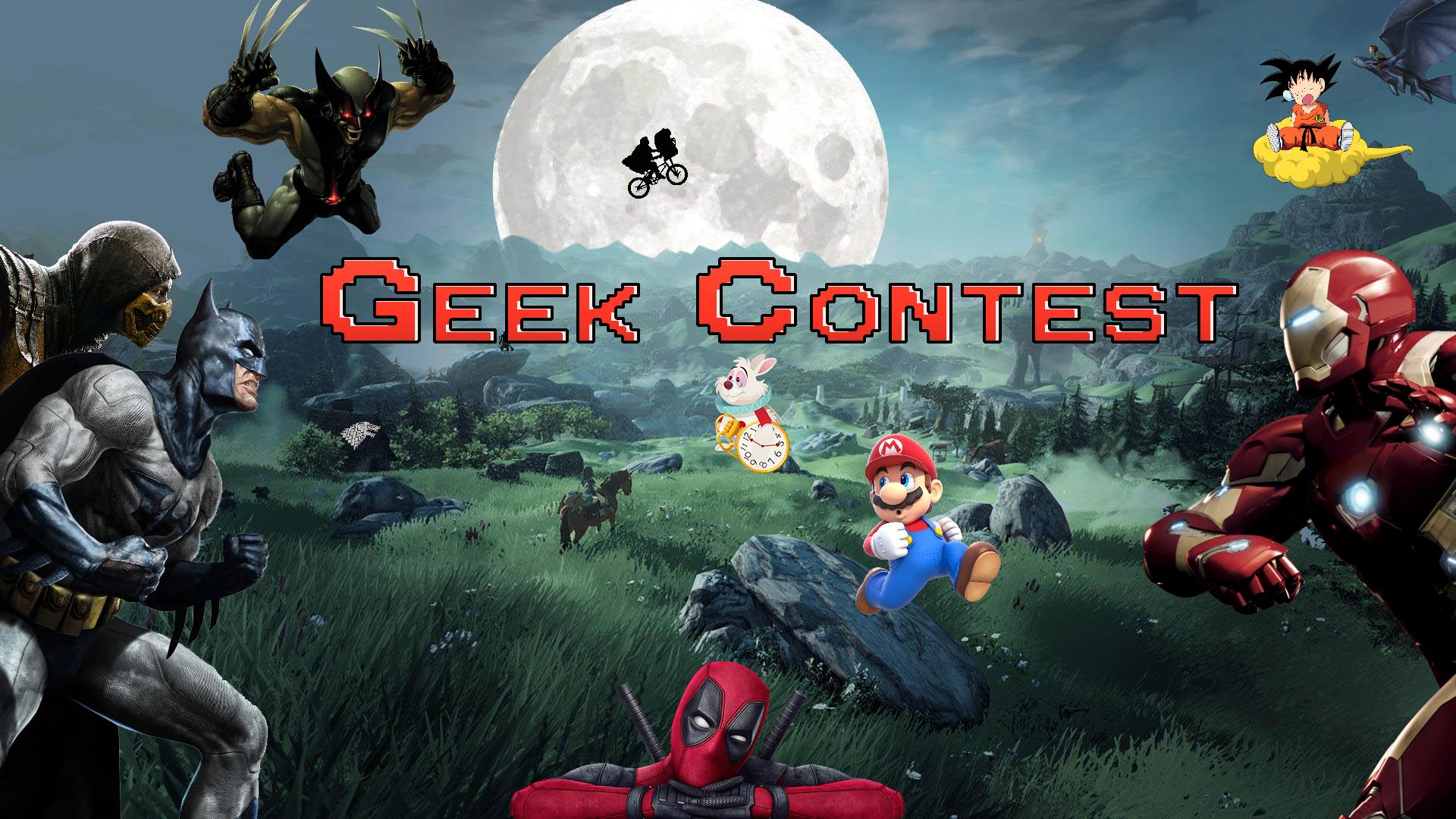 Geek-Contest - Le Temps