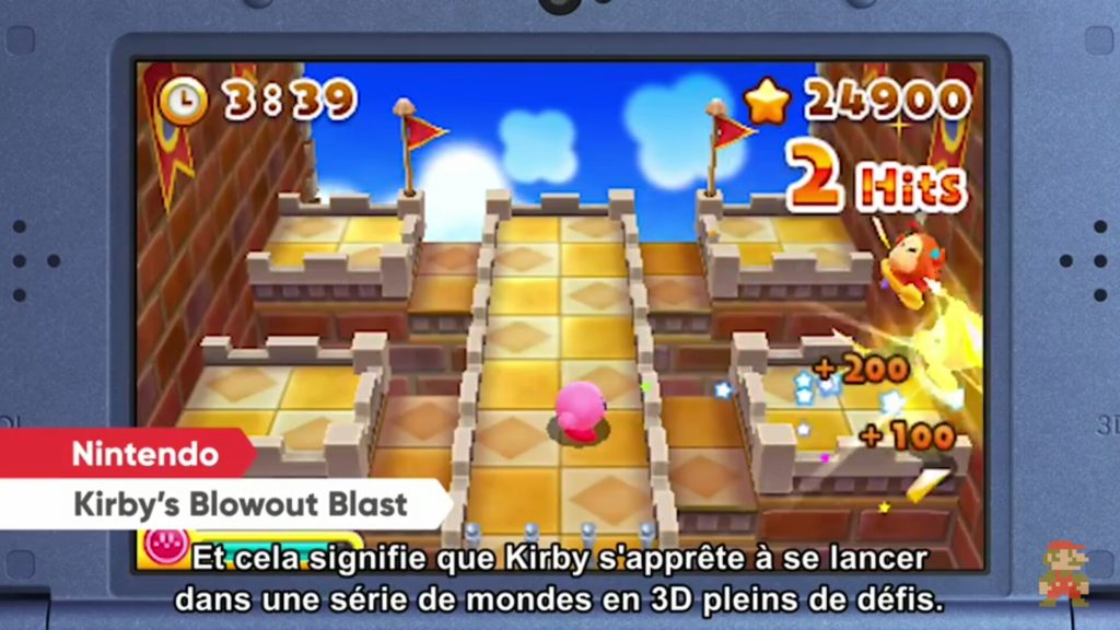 Nintendo Direct - Kirby Blowout Blast