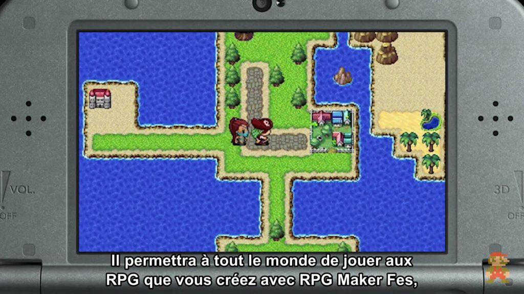 Nintendo Direct - RPG Maker FES