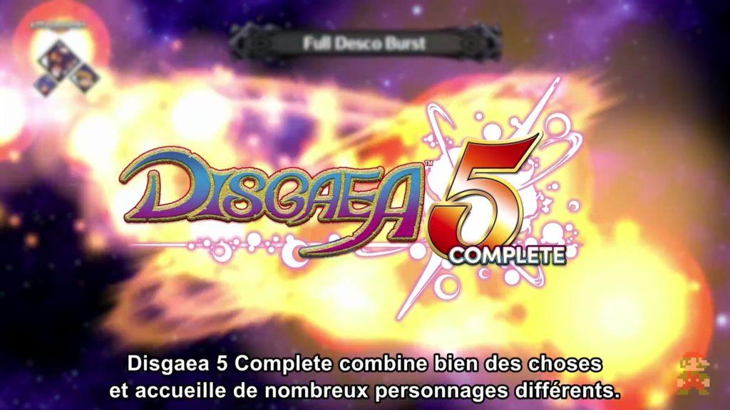 Nintendo Direct - Disagea 5