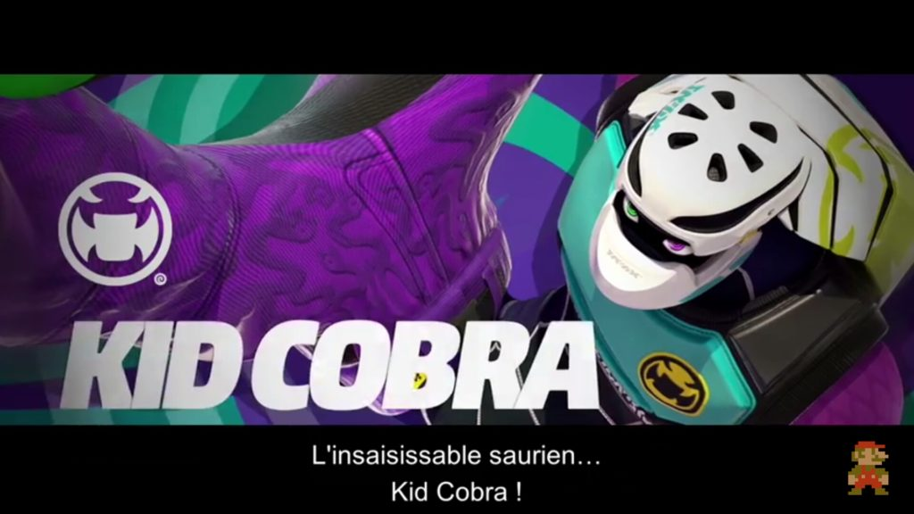 ARMS - Combattant Kid Cobra