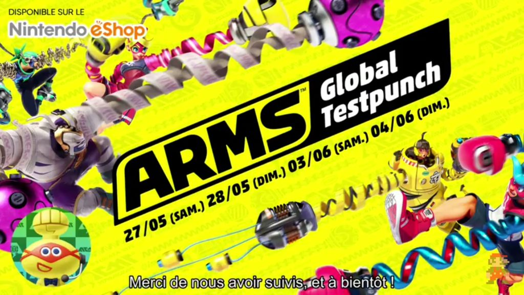 ARMS - Global Testpunch