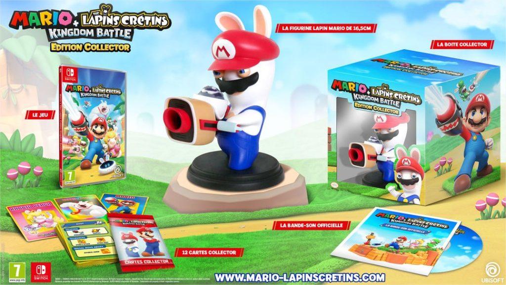 Mario + Lapins Crétins collector