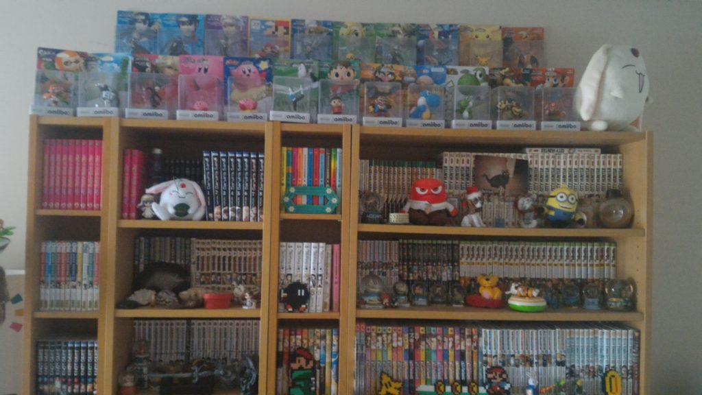 Collection mangas