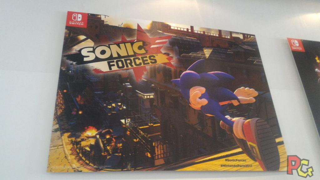 #NintendoParis2017 - Sonic Forces