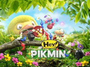 Hey!Pikmin titre