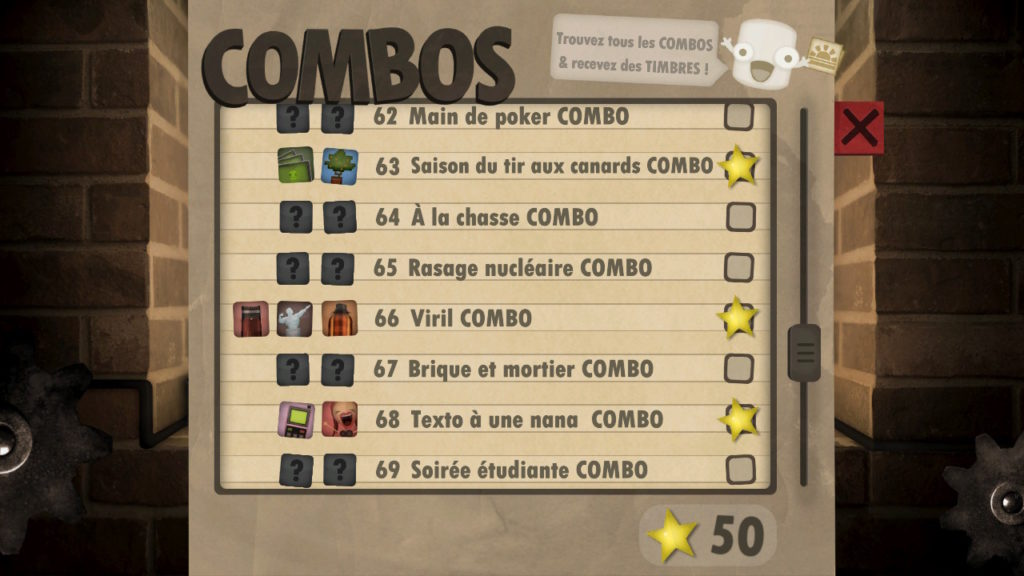 Little Inferno -liste combos