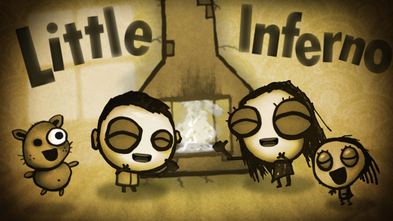 Little Inferno - titre jeu
