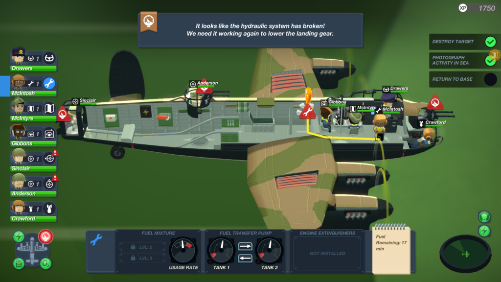 Bomber Crew - Inside Bomber