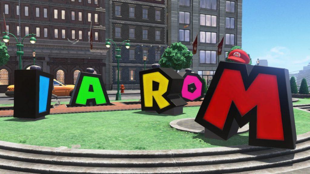 SuperMarioOdyssey Mario