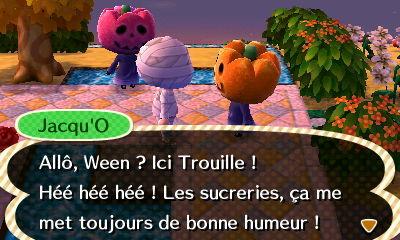 Animal Crossing Halloween