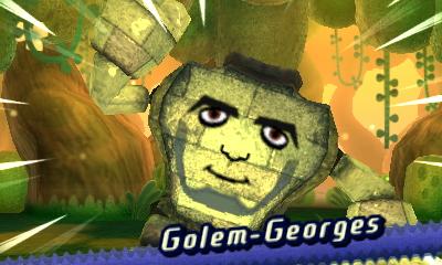 Miitopia Golem Georges