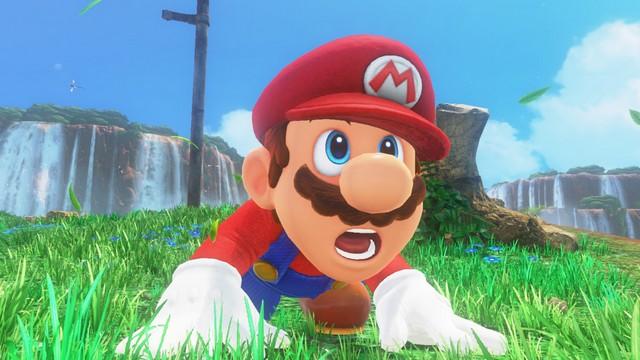 Super Mario Odyssey - pays des chutes 2