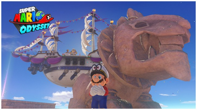 Super Mario Odyssey - pays des sables 4
