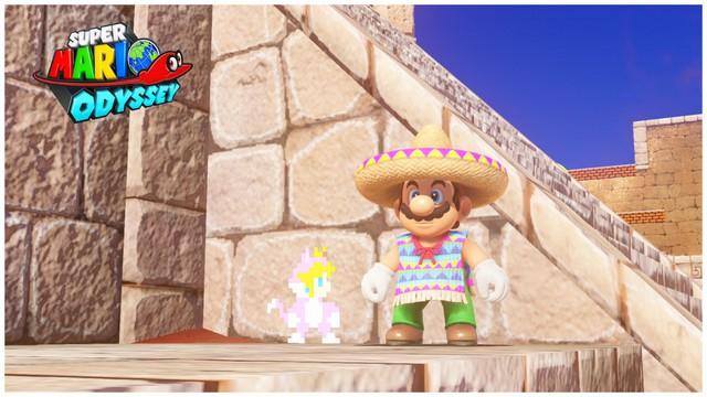Super Mario Odyssey - pays des sables 10