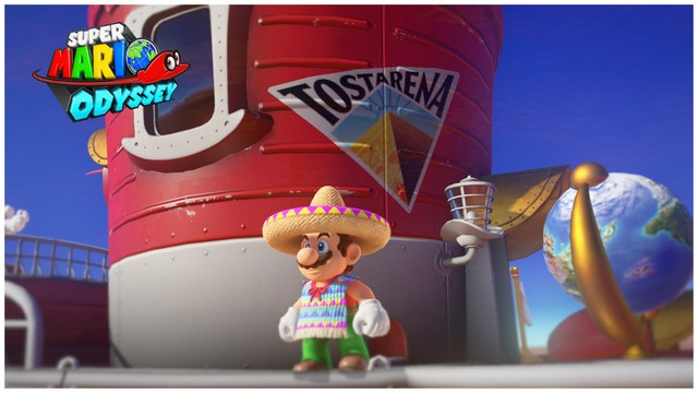 Super Mario Odyssey - pays des sables 11