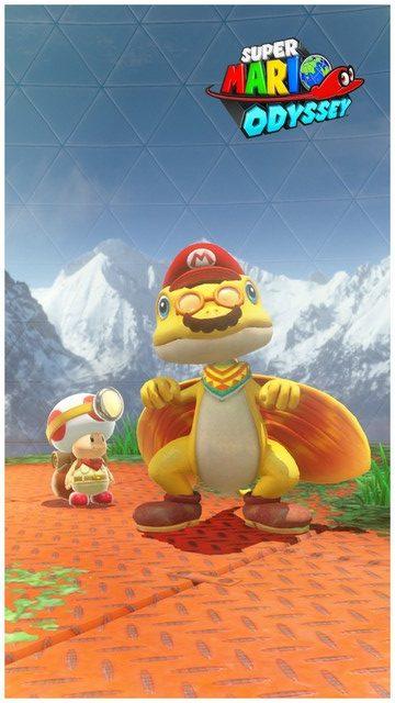 Super Mario Odyssey - pays de la foret 8