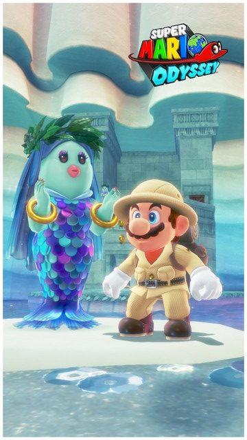 Super Mario Odyssey - pays du Lac 15
