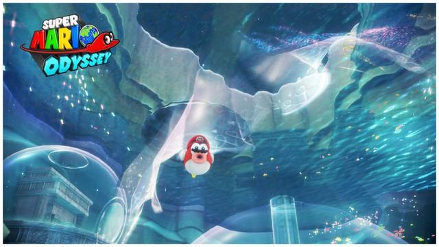 Super Mario Odyssey - pays du Lac 2