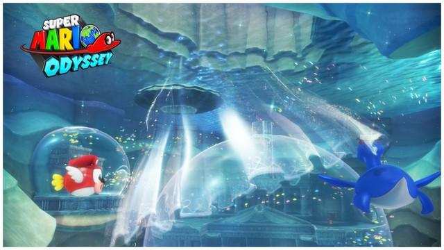 Super Mario Odyssey - pays du Lac 4