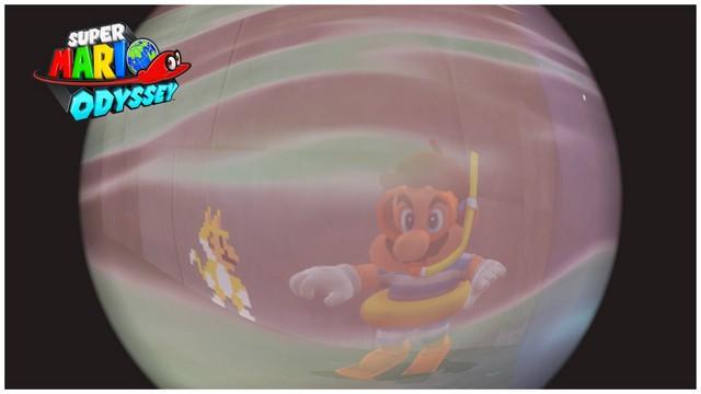 Super Mario Odyssey - pays du Lac 6