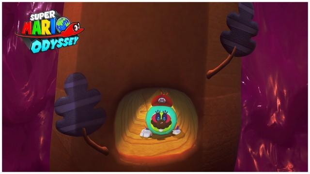 Super Mario Odyssey - pays perdu 3