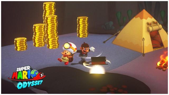 Super Mario Odyssey - pays perdu 4