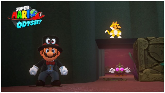 Super Mario Odyssey - pays perdu 5