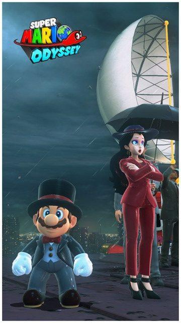 Super Mario Odyssey - pays gratte-ciel 41