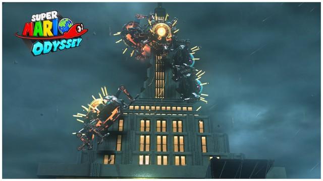 Super Mario Odyssey - pays gratte-ciel 4