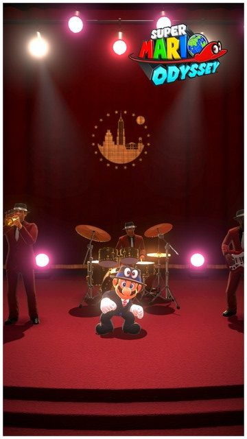 Super Mario Odyssey - pays gratte-ciel 47