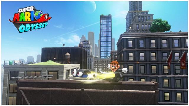 Super Mario Odyssey - pays gratte-ciel 29
