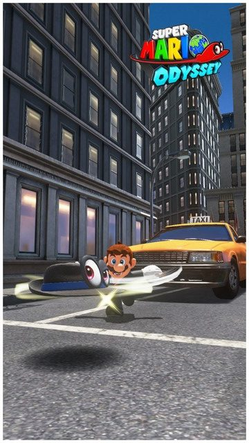 Super Mario Odyssey - pays gratte-ciel 49
