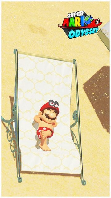 Super Mario Odyssey - pays de la mer 11