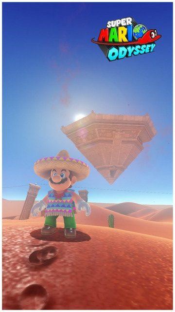 Super Mario Odyssey - pays des sables 18