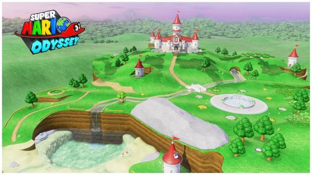 Super Mario Odyssey - Royaume Champignon 1