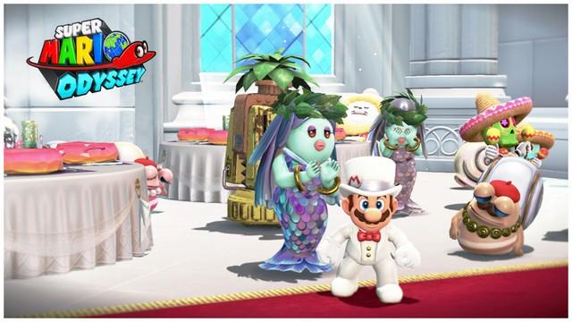 Super Mario Odyssey - pays de la Lune 9