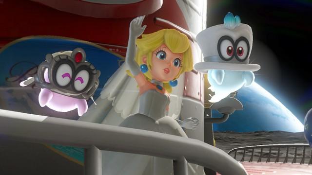 Super Mario Odyssey - pays de la Lune 15