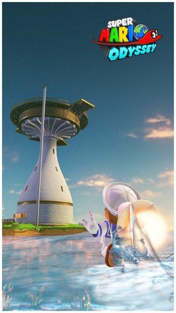 Super Mario Odyssey - pays de la mer 18