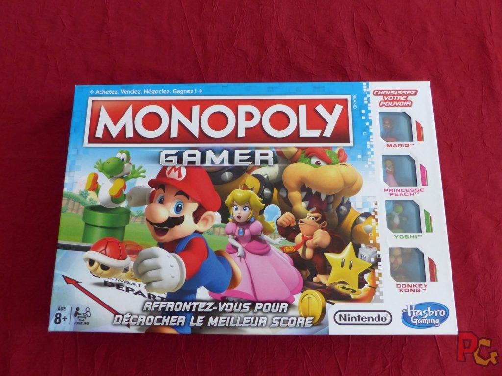 Monopoly Gamer - la boîte