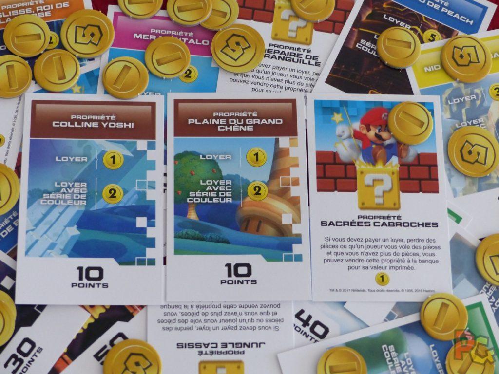 Monopoly Gamer - cartes propriétés
