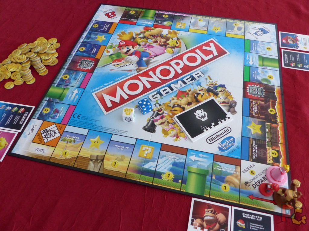 Monopoly Gamer - plateau en début de partie